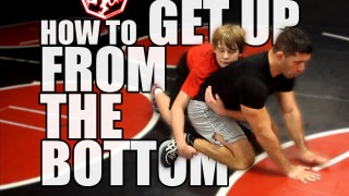 How to get up off the bottom