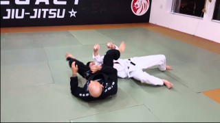 Basic Flying Arm Bar Variation