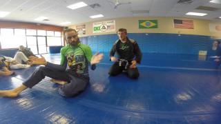 BJJ Clock Choke Ninja Tips