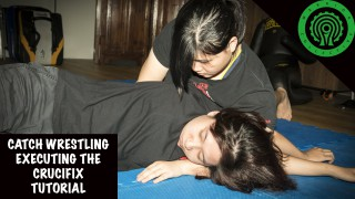 Catch Westling Executing the Crucifix Tutorial