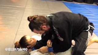 Collar Choke from Knee Slice
