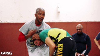 Guillotine counter to Single leg – Cromado