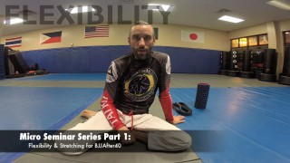 Solo Stretching & Flexibility (Belt and Wall drills)