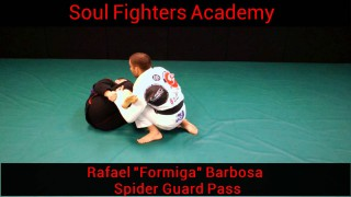 Spider Guard Pass – Rafael Formiga