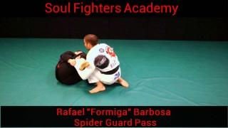 Spider Guard Pass – Rafael Formiga