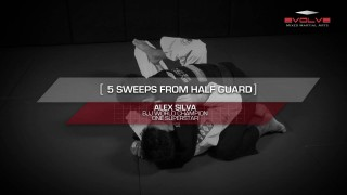 5 Essential BJJ Half-Guard Sweeps