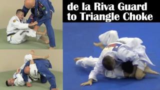 Advanced Triangle Choke from de la Riva Guard