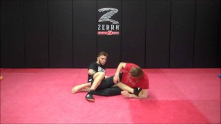 Inside heel hook from the Leg drag