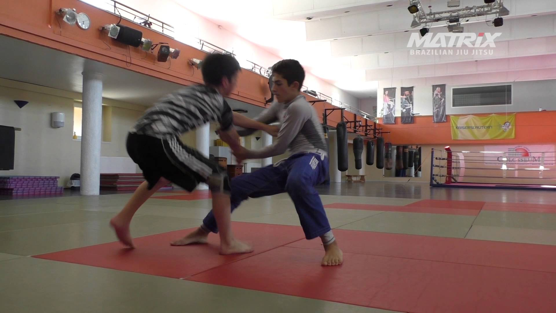 Jiu Jitsu Kid vs. Wrestling Kid
