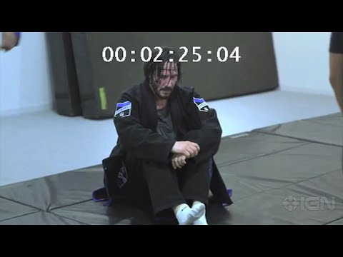 Keanu Reeves Training Jiu-Jitsu