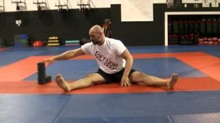 Lateral Hamstring and Lower Back Stretch