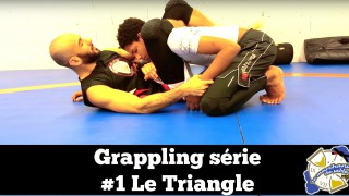 No Gi Triangle From Closed Guard