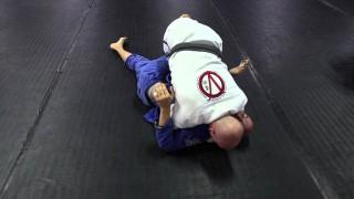Smash Half Guard Pass to Side Control – Chris Vamos