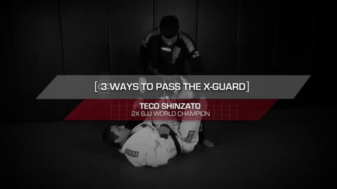 3 Essential X-Guard Passes