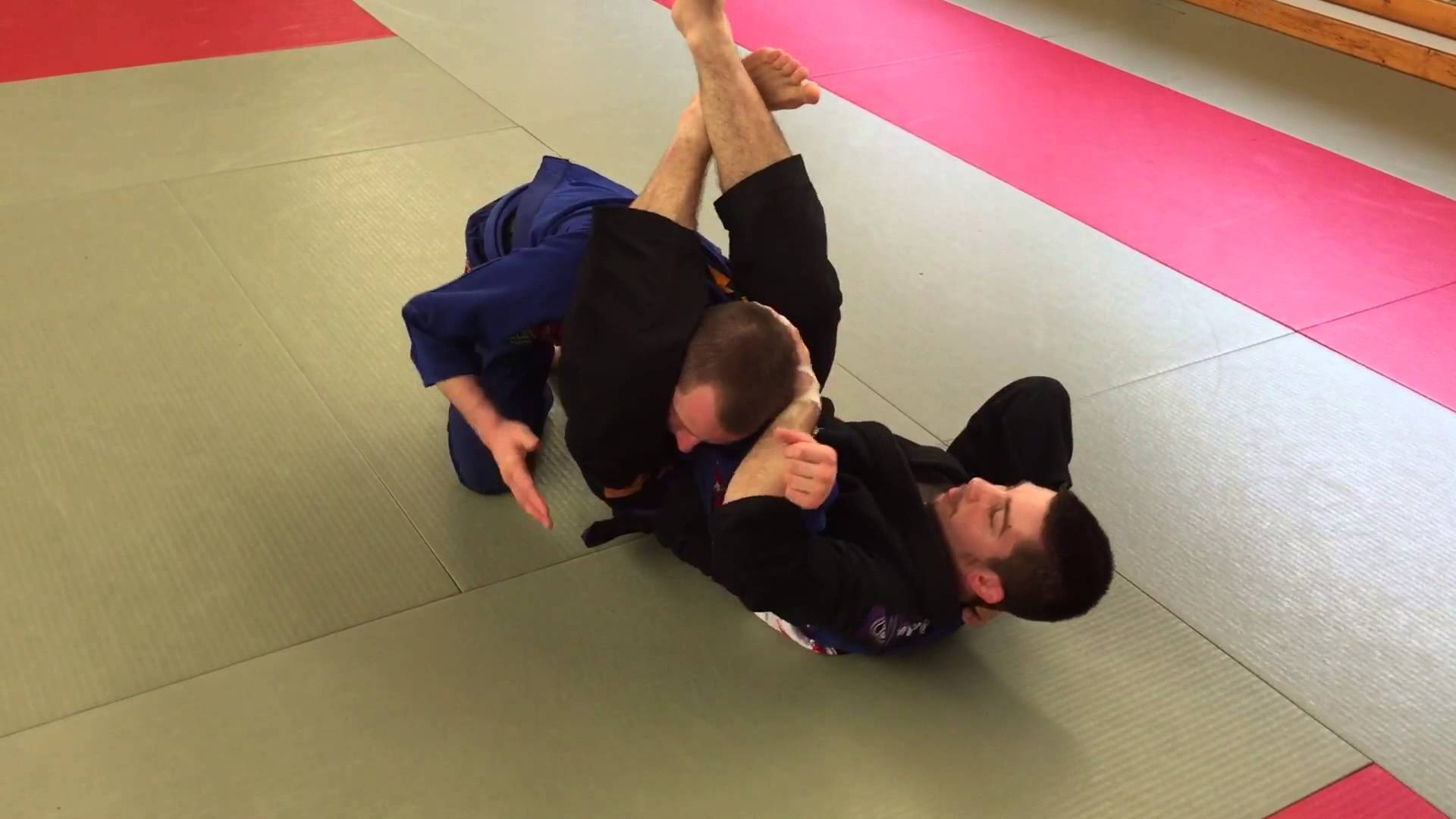 Back Lapel Guard Submissions and Sweep