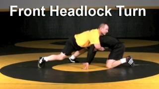 Front Headlock Turn Freestyle