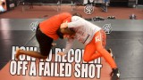 How to recover off a failed shot at the legs