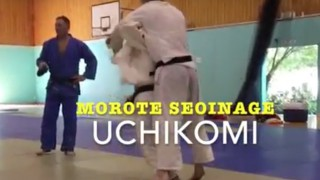Morote Seoinage Both Arms Shoulder Throw