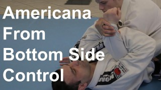 Americana From Bottom Side Control