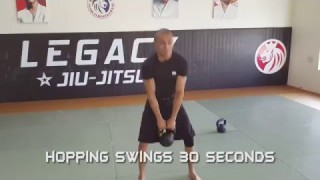 BJJ/MMA Specific Kettlebell and Body Weight Workout