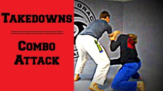 Elbow Pass & Duck Under Combo Takedowns
