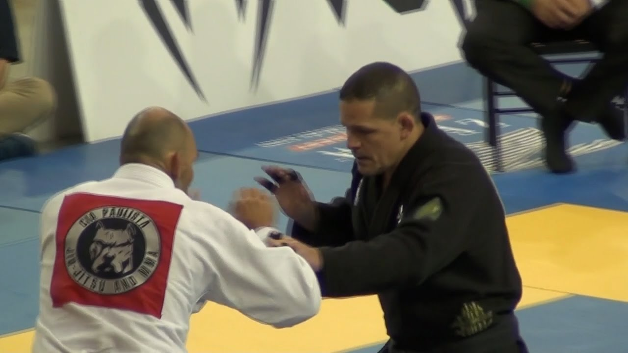 Saulo Ribeiro Completely Dominating Opponent at Pan 2016