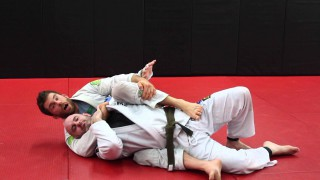 Sneaky Back Mount Arm Lock When Someone Defends Choke