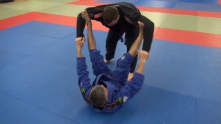 Spider guard pass