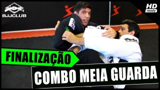 4 Chained Attacks From The Inverted Half Guard –  João Chiozzi