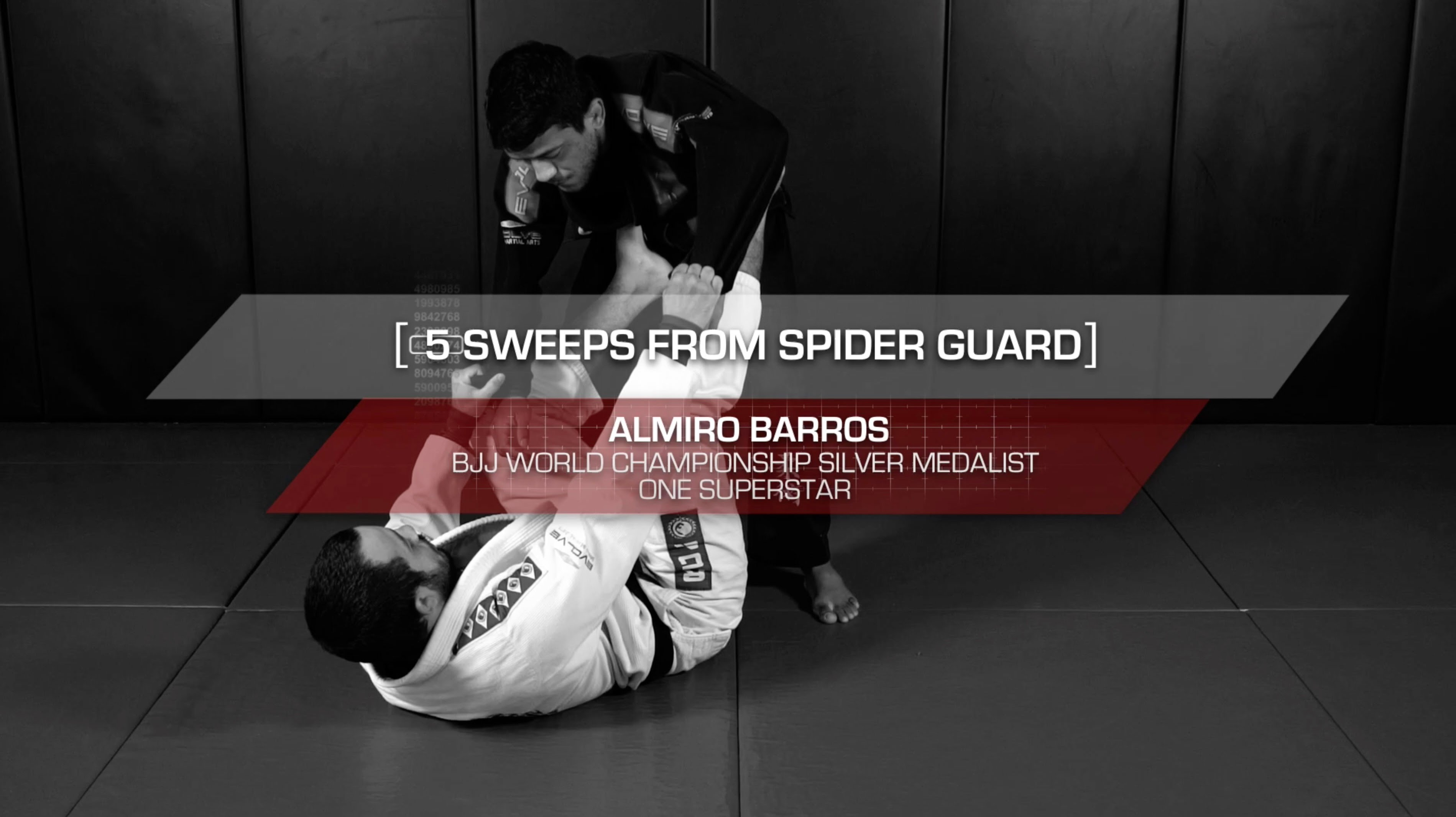 5 Essential Spider Guard Sweeps – Evolve's Almiro Barros