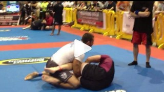 Ankle Lock vs Z Guard – Tom DeBlass