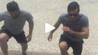 Capoeira Conditioning with Cobrinha