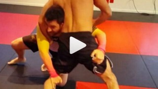 Double Leg Counter – Ruben Rivera