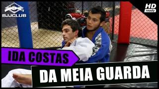 Back Take From Half Guard – Thiago Barreto