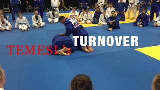 Breaking The Turtle Position To Head And Arm Choke