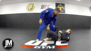 Footlock From Top De la Riva Guard
