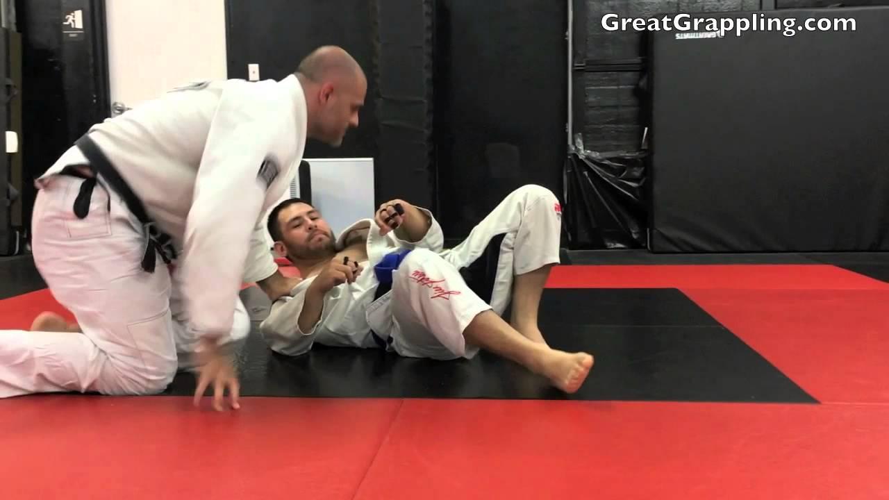 Half Guard Leg Knot