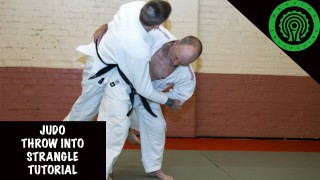 Takedown To Bow And Arrow Choke