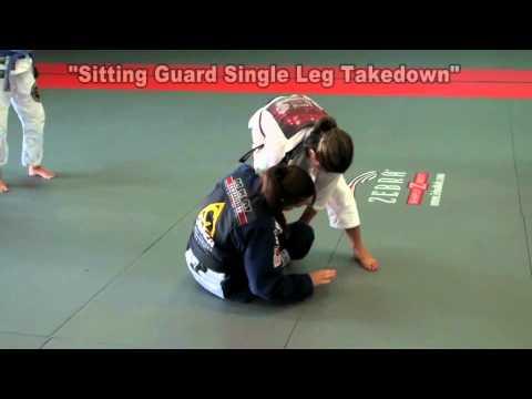 20 minute Seminar covering mainly Spider Guard – Michelle Nicolini