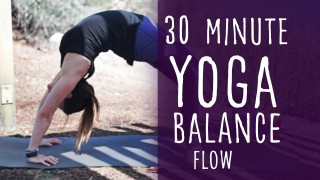 30 Minute Yoga Flow For Balance – Lesley Fightmaster