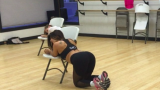 Mackenzie Dern Chair Dance Routine
