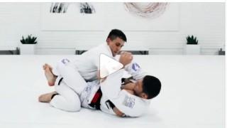 Claudio Calasans armbar technique taught at AoJ