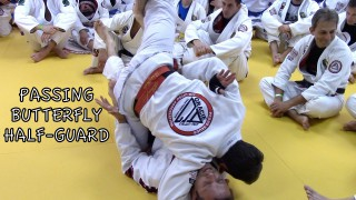 Butterfly Half Guard Pass – Pedro Sauer