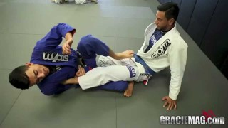 Foot Lock from the Half Guard – Edwin Najmi