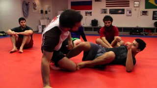 Lockdown Half Guard Fundamental sweeps