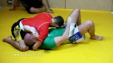Passing the Guard and setting up D'arce choke – Nicolas Renier