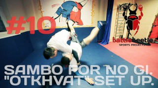 Sambo variation of Judo Osoto Gari modified for NoGi – Kirill Sementsov