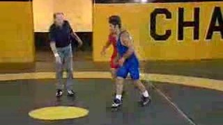 Single leg to Double Leg – Dan Gable