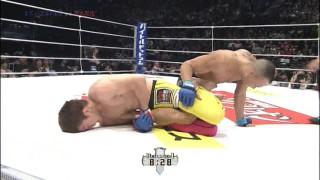 Submission ending match between Shinya Aoki & Eddie Alvarez