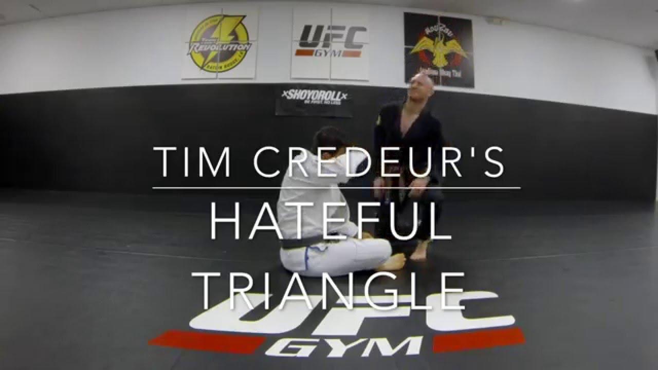 Tim Credeur's Hateful Triangle – Josh Mancuso